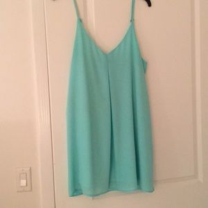 Tobi Teal Shift Dress