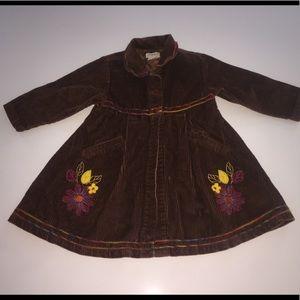 Zutano collectibles brown corduroy coat jacket 2