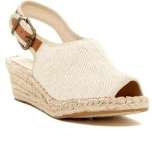 Ellen Tracy Kameo Espadrille Wedge in Natural 7M