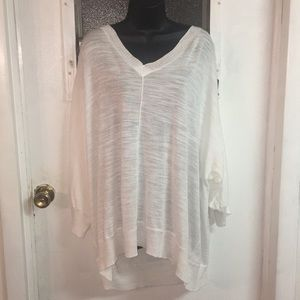 Torrid inside out sweater size 4