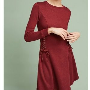 Anthropologie NWT  eri + ali long sleeve dress- L