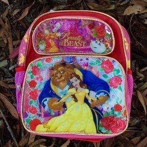 🎊SALE new Beauty & the beast Disney backpack gift