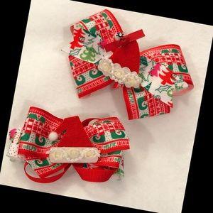 Other - Santa bows!
