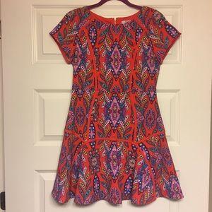 • Gianni Bini Multicolored Printed Dress •
