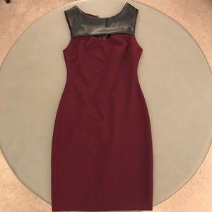 AQUA keyhole dress // size S