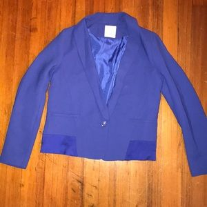 Urban Outfitters electric blue blazer