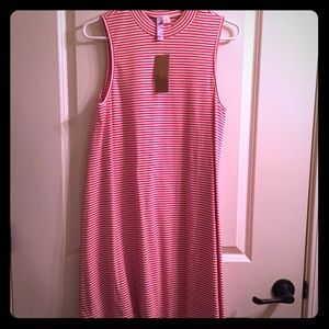 Francesca's Alya Striped Dress NWT