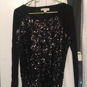 Michael Kors sequen shirt - L