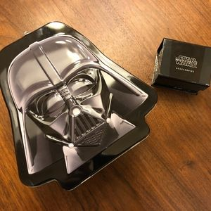 Star Wars Darth Vader Cuff Links and T-Shirt