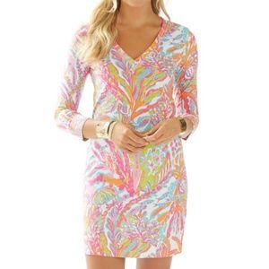 Lilly Pulitzer Christie v-neck shirt dress XL