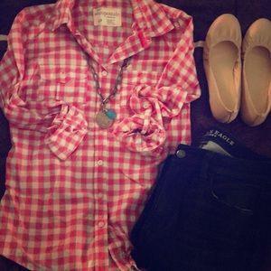 FINAL OFFER - Aeropostale Plaid in Pink!