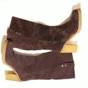 UGG Heeled Boots Sz 7