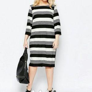 Carmakoma Stripe Dress