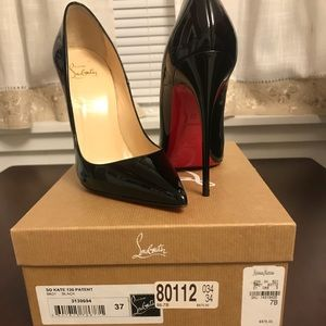 So Kate 120 patent leather blk Christian Louboutin