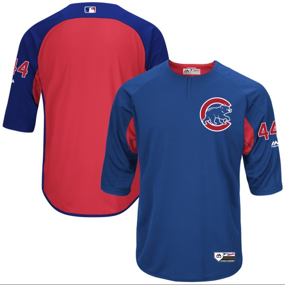 the latest 4ce3b 11c79 Chicago Cubs Anthony Rizzo Majestic Jersey (XL)