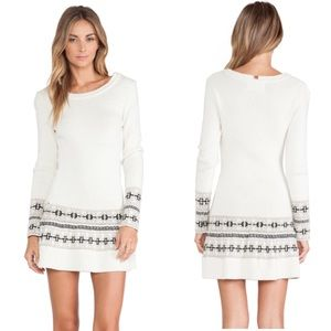 [For Love And Lemons Knitz] Alpine Sweater Dress
