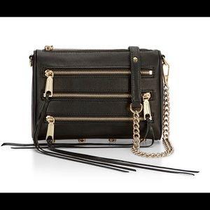 Rebecca Minkoff 5 Zip Chain Strap Bag
