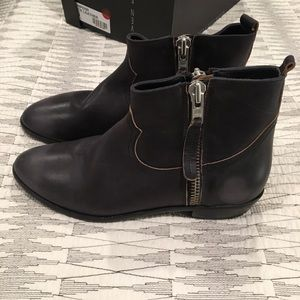 Cowboy style booties
