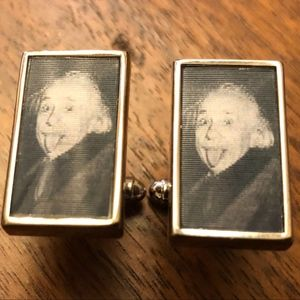 Other - Albert Einstein Lenticular Cuff Links