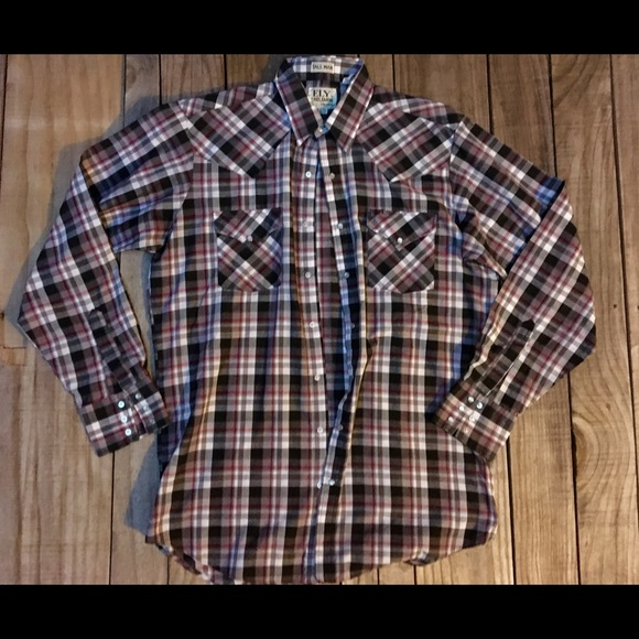 b3e252803d Ely Cattleman Other - Vintage Ely Cattleman Pearl Snap Shirt