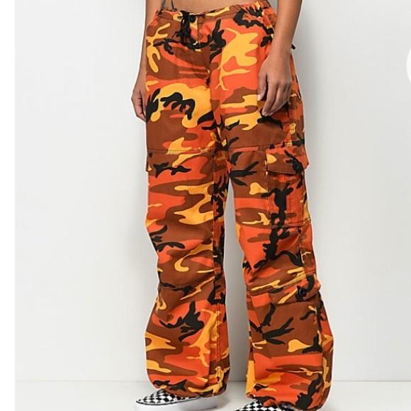 Rothco Orange Camo pants. M 5a2c97509c6fcf2e2003aa9f 2595257f96c