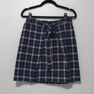 Madewell Front Tie Skirt