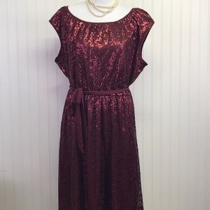 Lane Bryant Sequin Dress