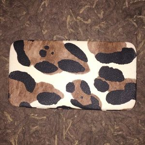 Handbags - Leopard print wallet