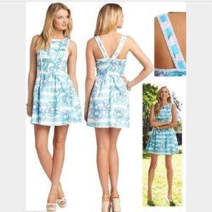 Lilly Pulitzer Sandrine Dress in Shorley blue
