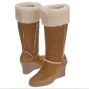 Ugg Australia Chestnut Sandra Wedge Boot