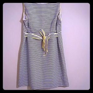 Plus Striped Dress