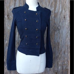 Jessica Simpson Fitted Military Style Jacket S