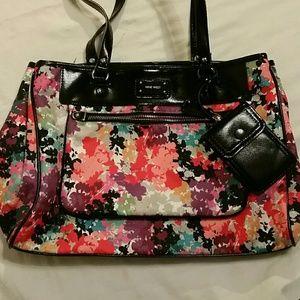 Nine West  floral purse