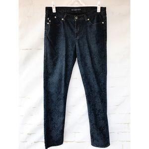 Rock & Republic Woman's 10 Slim Printed Jeans