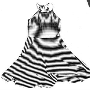 Mossimo Supply Co. Striped Swing Dress