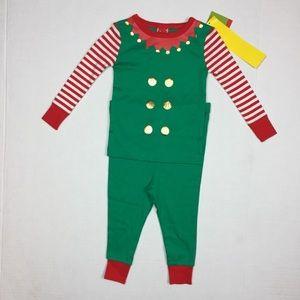Other - Toddler unisex Christmas Pajamas Elf 2 piece