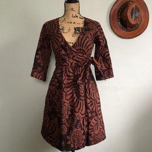 Tibi New York kimono size wrap dress size 4