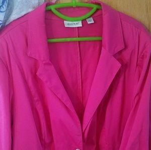 Light Hot pink CUTE jacket