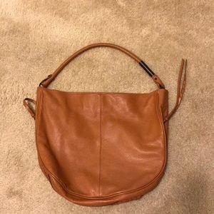 Foley + Corrina rust color handbag