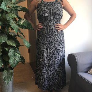 Long dress tropical Target Merona