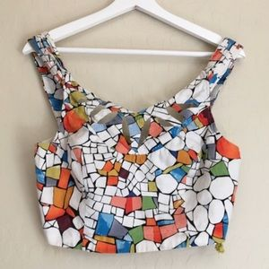 Anthropologie crop top by Maeve