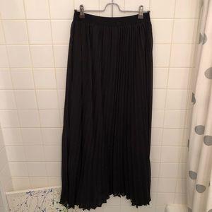VIVIENNE TAM   maxi flowy double layered skirt