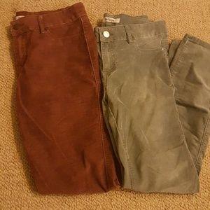 2 refugee jeans!