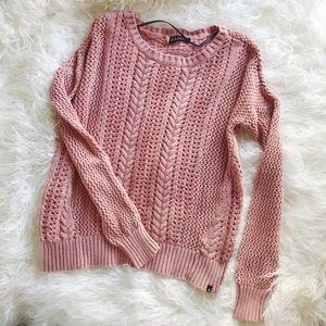 Volcom knit sweater 🖤🌿