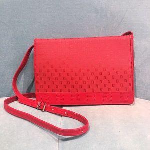 Fendi Vintage Red Crossbody Bag