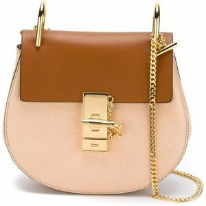 Chloe Mini Drew Colorblock purse