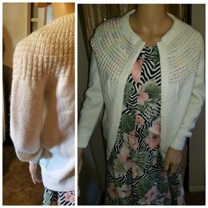 Authentic 1950s sweater with sequin design