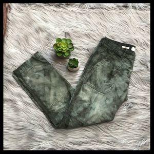 Anthropologie Hei Hei The Wanderer Tie Dye Pants