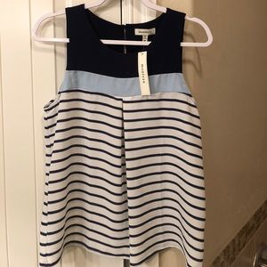 Brand new with tags! Stripe tank