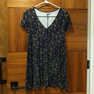 ASOS Floral Buttoned dress